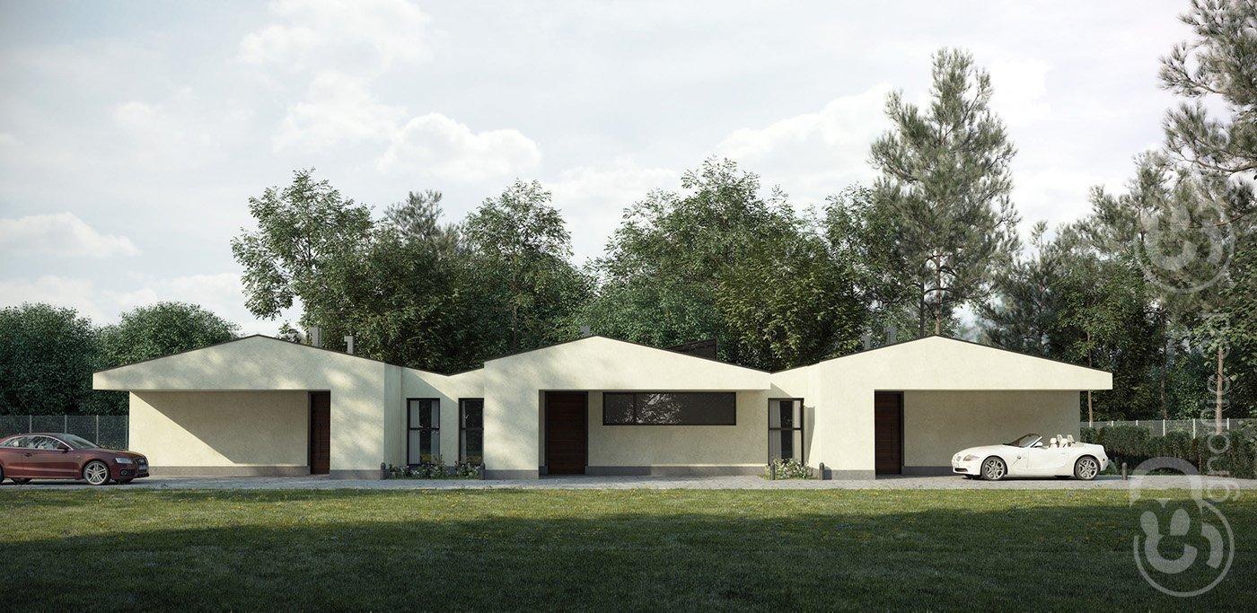 3D Infografías Valladolid Castilla y León - Viviendas Adosadas
