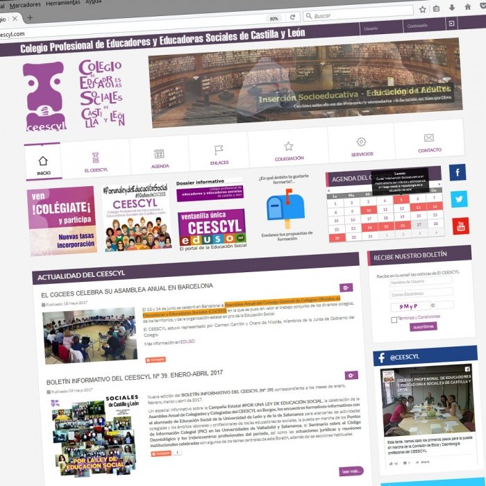 Diseño web Valladolid Castilla y León Páginas web Colegio