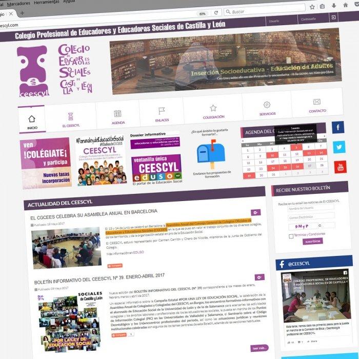 Diseño web Valladolid Castilla y León Páginas web Colegio