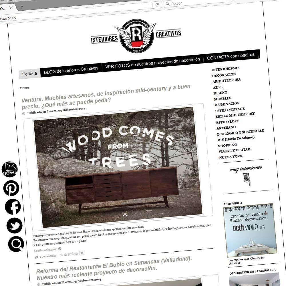 Diseño web Valladolid Castilla y León Blog Páginas web Interiorismo